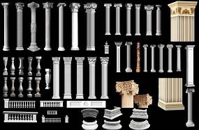 浮雕GRC罗马柱
